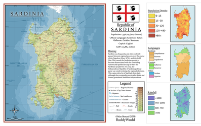Republic of Sardinia by BuddyWudd