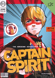 The Awesome Adventure of Captain Spirit by Artpaipost