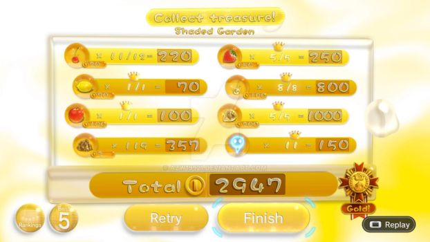 pikmin 3 shaded garden platinum medal attempt by azw19921