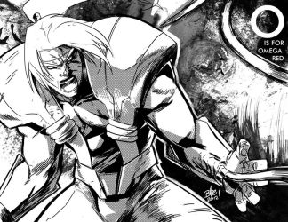 O is for Omega Red by toonfed