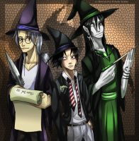 Kabuto Oro Sasu: Wizard People by Yakushi--Kabuto
