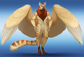 Majestic gryphon! by little-owlette