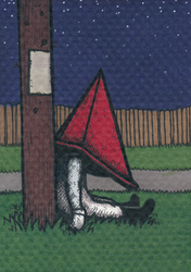 Pyramid Head at rest by Yamallow