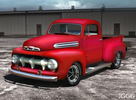 pickup ford by jgggdesign