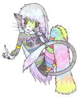 Rave Kitty by Fikear
