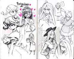 Palomino sketchbook 03 by KarlaDiazC