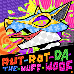 Rut-Rot-Da-The-Wuff-Woof (ART) by megawolf77