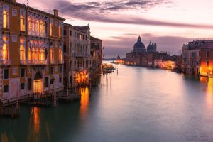 Twilight in venice by LinsenSchuss