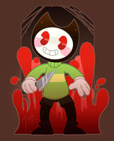 CHARA, AND THE INK MACHINE by Marshellle