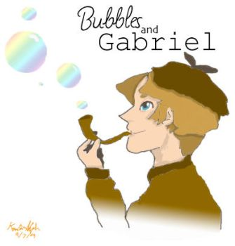 Bubbles and Gabriel by Without-Arms