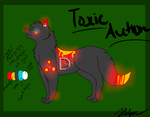 Toxic Auction CLOSED by DarkWolfArtist