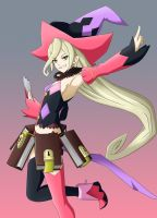 Magilou - Tales of Berseria by nickoxo