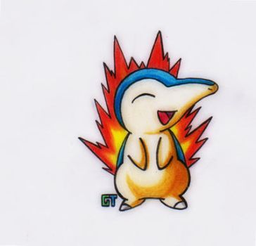 #155 - Cyndaquil by GTS257-CT