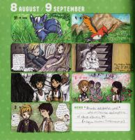 2015 - Kumamon Day Planner - Week 36 by sweet-suzume