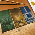 Star Wars Bookmarks by Sherlaya