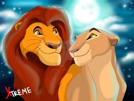 The Lion King - Mufasa and Sarabi in youth by Diego32Tiger