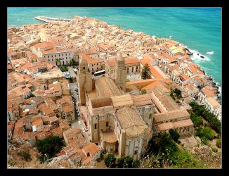 Over The Roofs Of Cefalu - 1 by skarzynscy