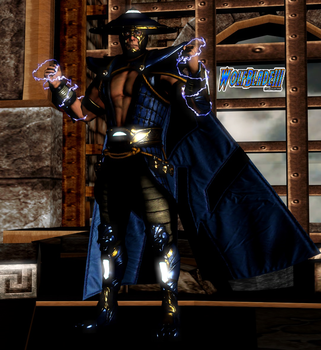 Raiden The God of Thunder. by WOLFBLADE111