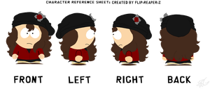 South Park OC: Viola Topwells by FallenGalaxyy