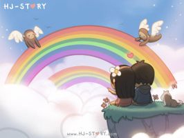 94. Rainbow by hjstory
