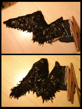 [Howl's Moving Castle] Demon Howl Wing (just one) by Makeshitoholic