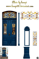 Art Nouveau Door 1 by lumpi69