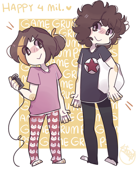 Game grumps by thesheepdraws