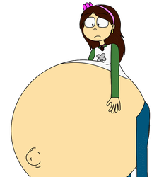 [BC] Gassy Claudia's belly by Angry-Signs