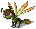 First Deergonfly Adoptable [TAKEN] by AltairSky