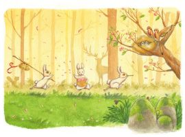 Easter Forest by SophieLeta