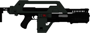 M41A Pulse Rifle by Hybrid55555