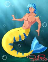 Flounder, The Merman by Big-Red-Box