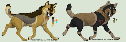 Custom adoptables for Annu-Adopts by W0lfArtz