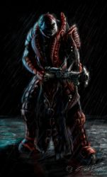 Theron Guard by CrescentDebris