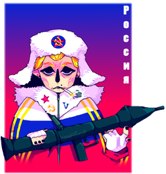 *cue the russian anthem by afroclown