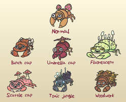 Pokemon variation: Paras