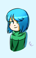 Amber Quick Doodle by Lyrica-Clef