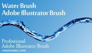 Pro Water Illustrator Brush by Grasycho