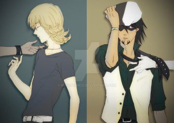 Tiger and Bunny by moninonico