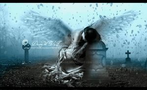 The sadness of an Angel by esnaide