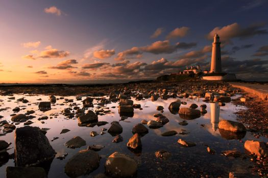 St. Mary's Sunset II by rephocus