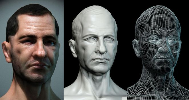 NPC face male 03 by mojette