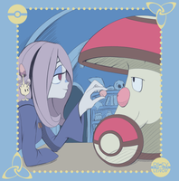 Sucy and Amoongus by RilexLenov