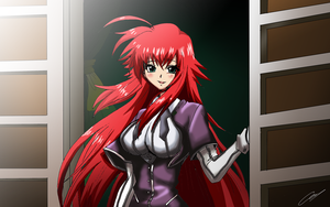 [Commission] Rias Gremory by Hikari-15-L