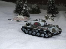IS-2 in Winter by Baryonyx62