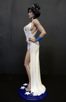 Wonder Woman , evening gown  painted 3 by rvbhal