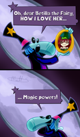 RAYMAN - THE MAGICIAN by LWB-the-FluffyMystic
