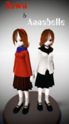 [MMD] Dawn and Annabelle .::DL::. by Laxianne