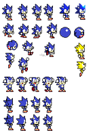Sonic R Sprites Final Verison by Mobian-Shadowtails
