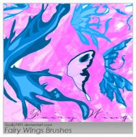 Fairy Wings Brushes by Scully7491